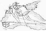 Схемы позиций подводных лодок